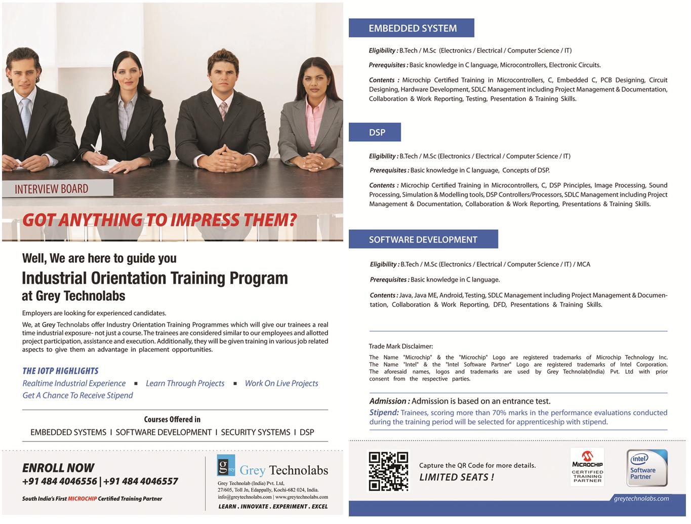 Industry Orientation Training Programme | Grey Technolabs
