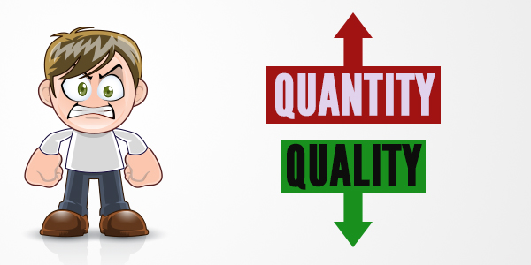 Decreasing quality of training institutes